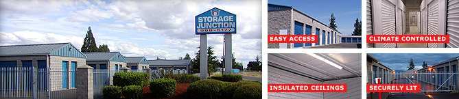 Eugene Mini Storage, Storage Junction in Junction City Oregon, just past North Eugene